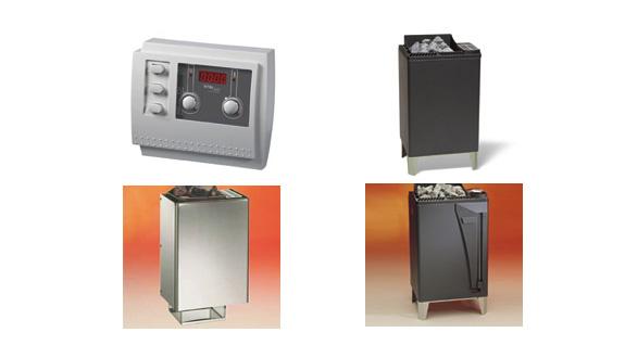 Hytek - Wellness - Produkte - SET I Saunaofen + Steuerung + 20kg Saunasteine