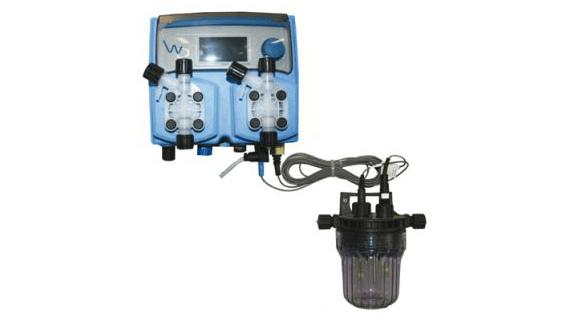 Hytek - Wellness - Produkte - Membrandosierpumpe für pH oder Chlor