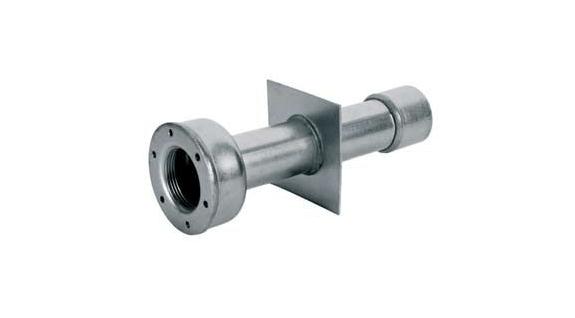 """Hytek - Wellness - Produkte - Mauerdurchführung """"lang"""" 240 mm, V4A"""