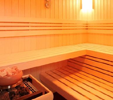 Hytek - Wellness - Sauna - Inneneinrichtung Fino