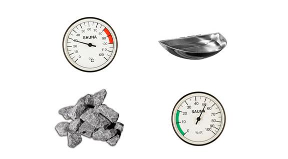 Hytek - Wellness - Produkte - Saunaset Standard 6-teilig