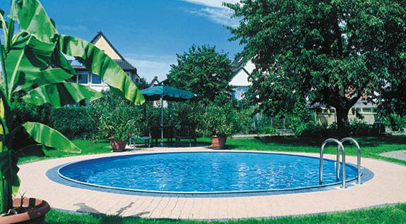 Hytek - Wellness - Produkte - Rundschwimmbecken Classy Ø 3,50m / 1,20m