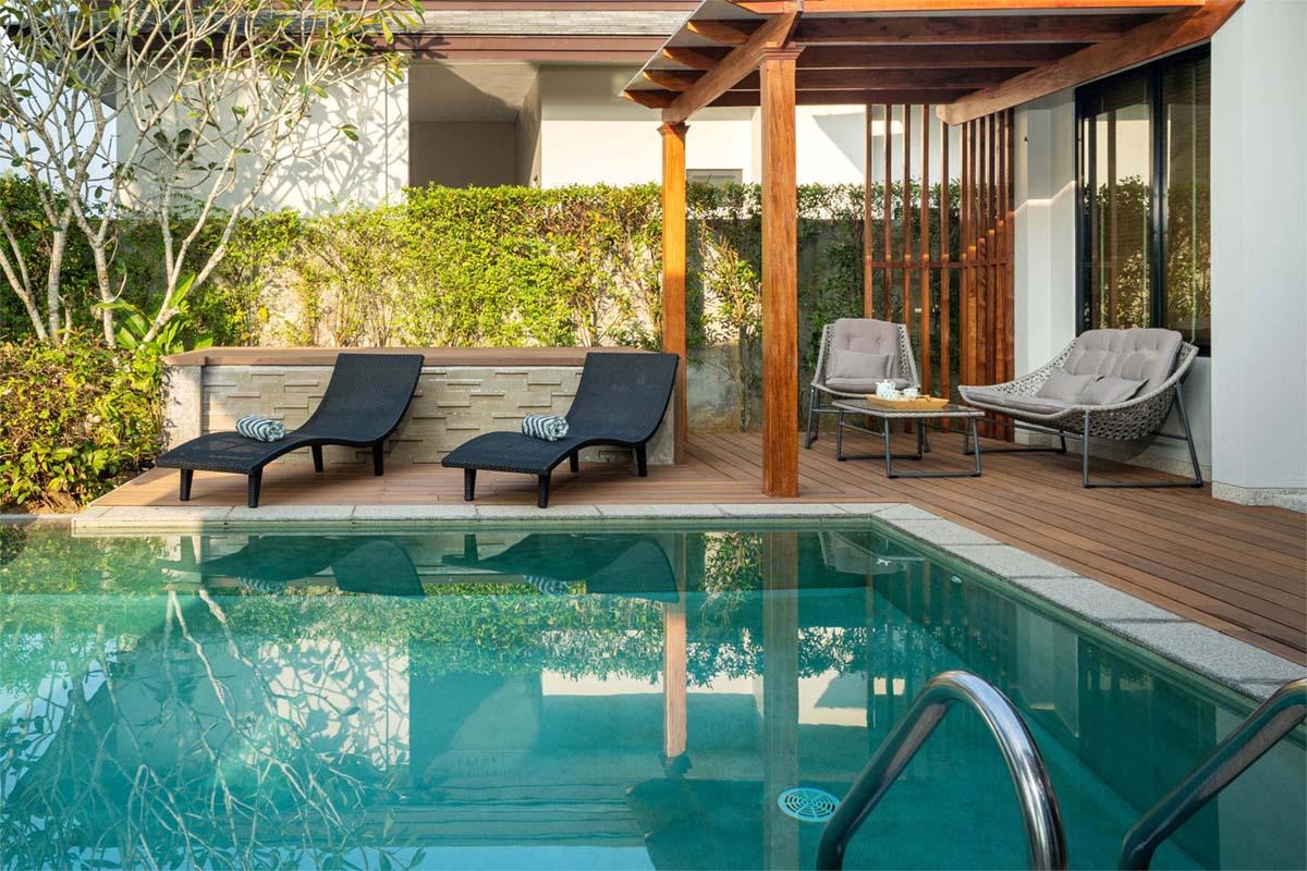 Traum Schwimmbad oder Pool im eigenen Garten
