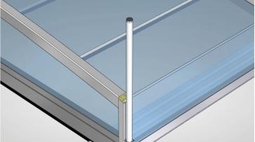 Hytek - Category - Bedienungsanleitung – Montage der Schiebestange der Hytek Überdachung Horizont